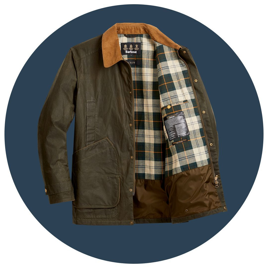 This J.Crew x Barbour Jacket Looks Great Now. It'll Look Even Better in 20 Years.