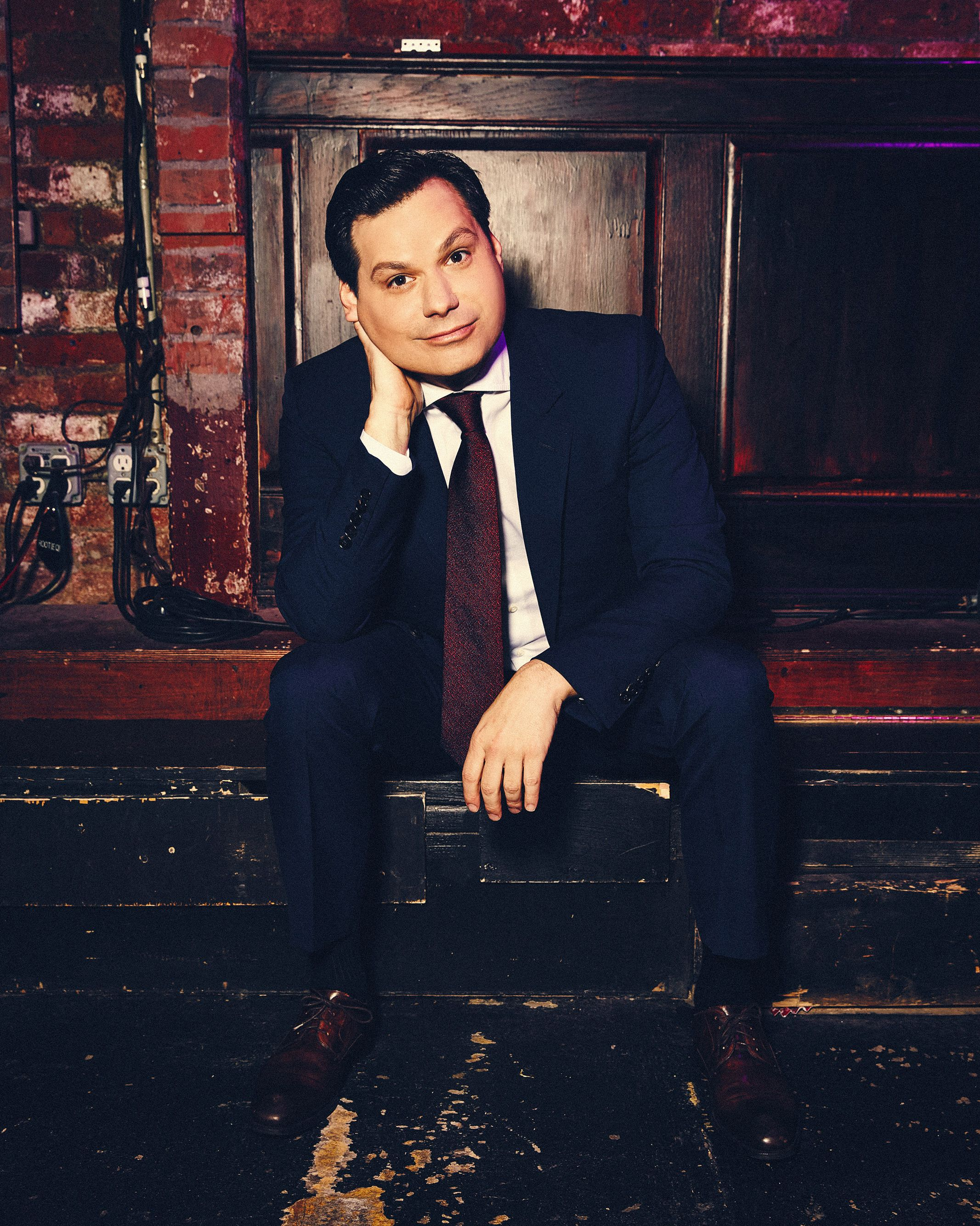 For the First Time in His Life, Michael Ian Black Isn't Sure What to Say