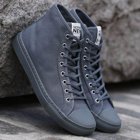 Footwear, Shoe, Grey, Fashion, Zipper, Sneakers, Boot, Plimsoll shoe, Leather, Fashion accessory,
