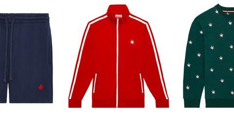Clothing, Sleeve, Red, Outerwear, Sports uniform, Jacket, Sportswear, Uniform, Jersey, Collar,