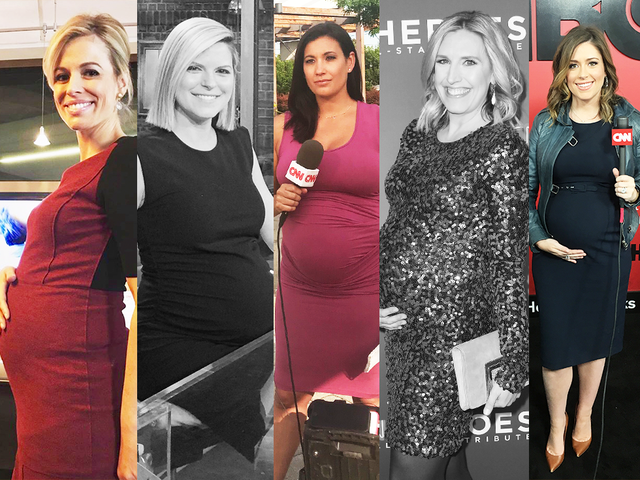 Cnn Anchors On Being Pregnant And Giving Birth During This News Cycle