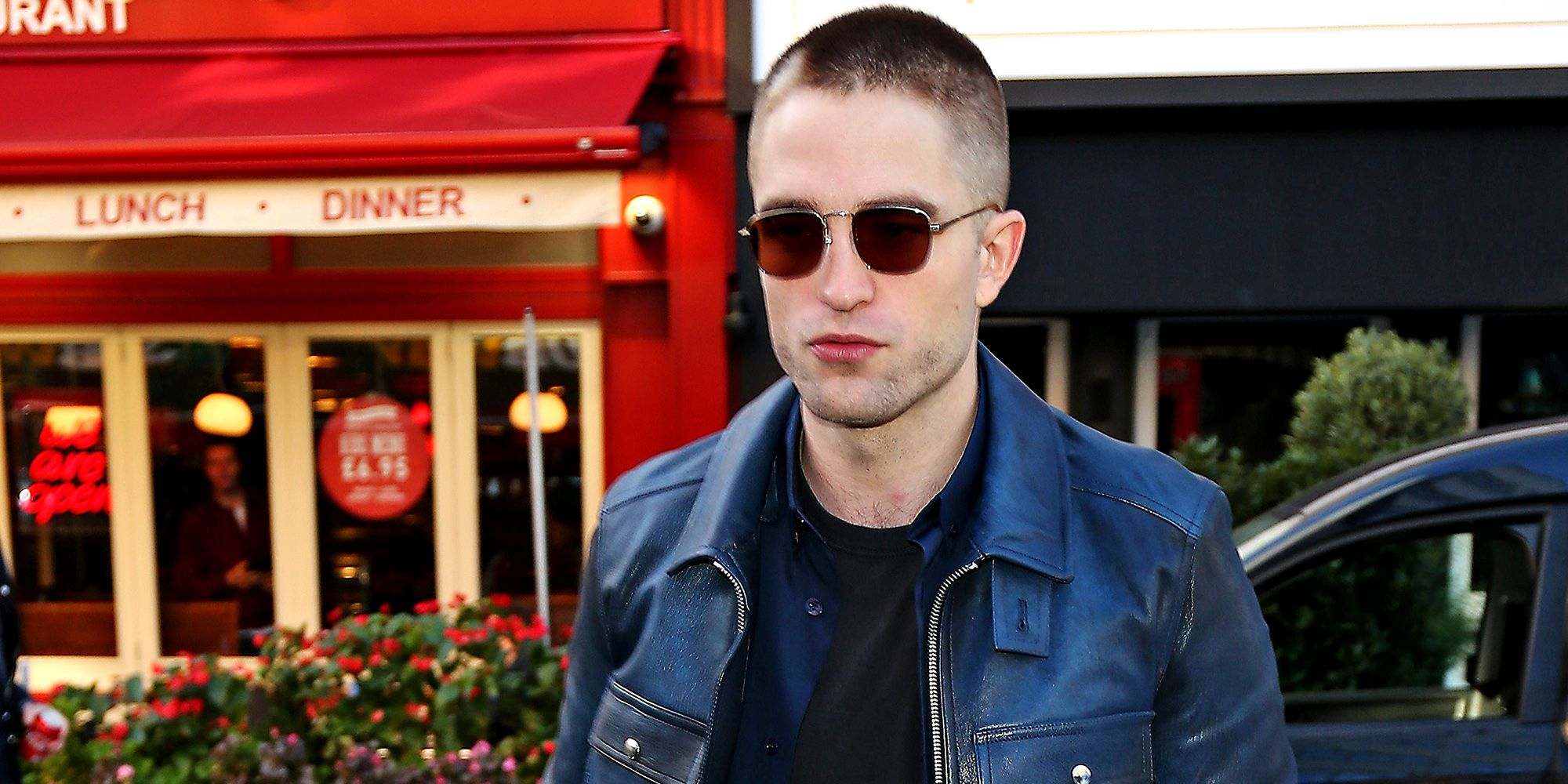 d540e234f5436 Robert Pattinson Just Proved Navy and Black Belong Together