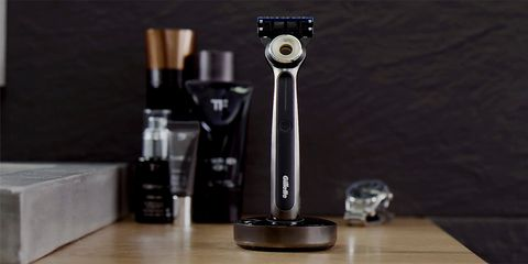 Gillette's Heated Razor Is Basically an At-Home Hot-Towel Shave