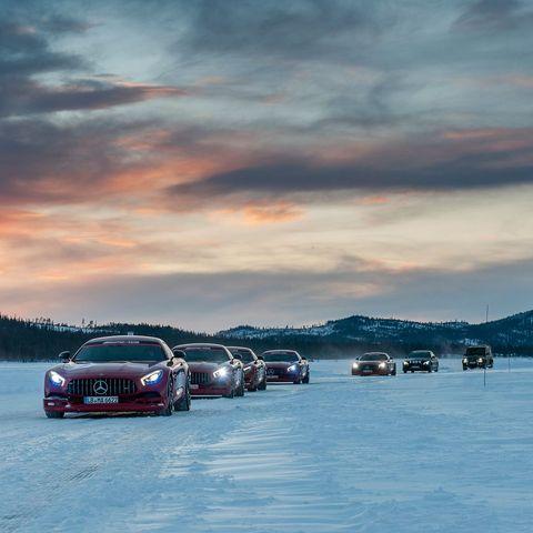 Sky, Vehicle, Cloud, Car, Winter, Sea, Snow, Ocean, Mountain, Landscape,