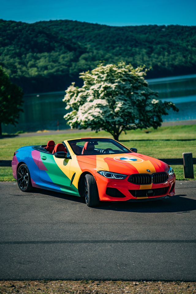 bmw, pride, campaign, rainbow