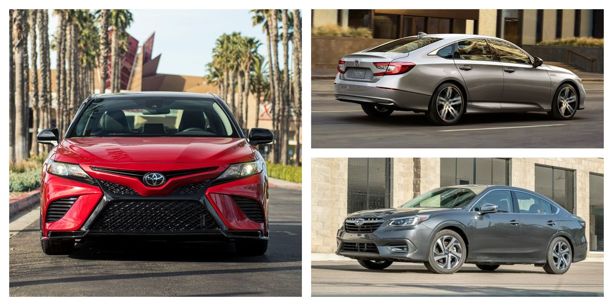 Every New Mid-Size Family Sedan Ranked for 2021