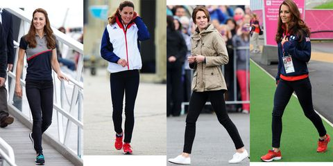 Image result for duchess kate in sneakers sneakers