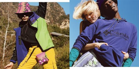 Purple, Outerwear, Fashion, Headgear, Adaptation, Collage, Photography, Fashion accessory, Style, Sleeve,