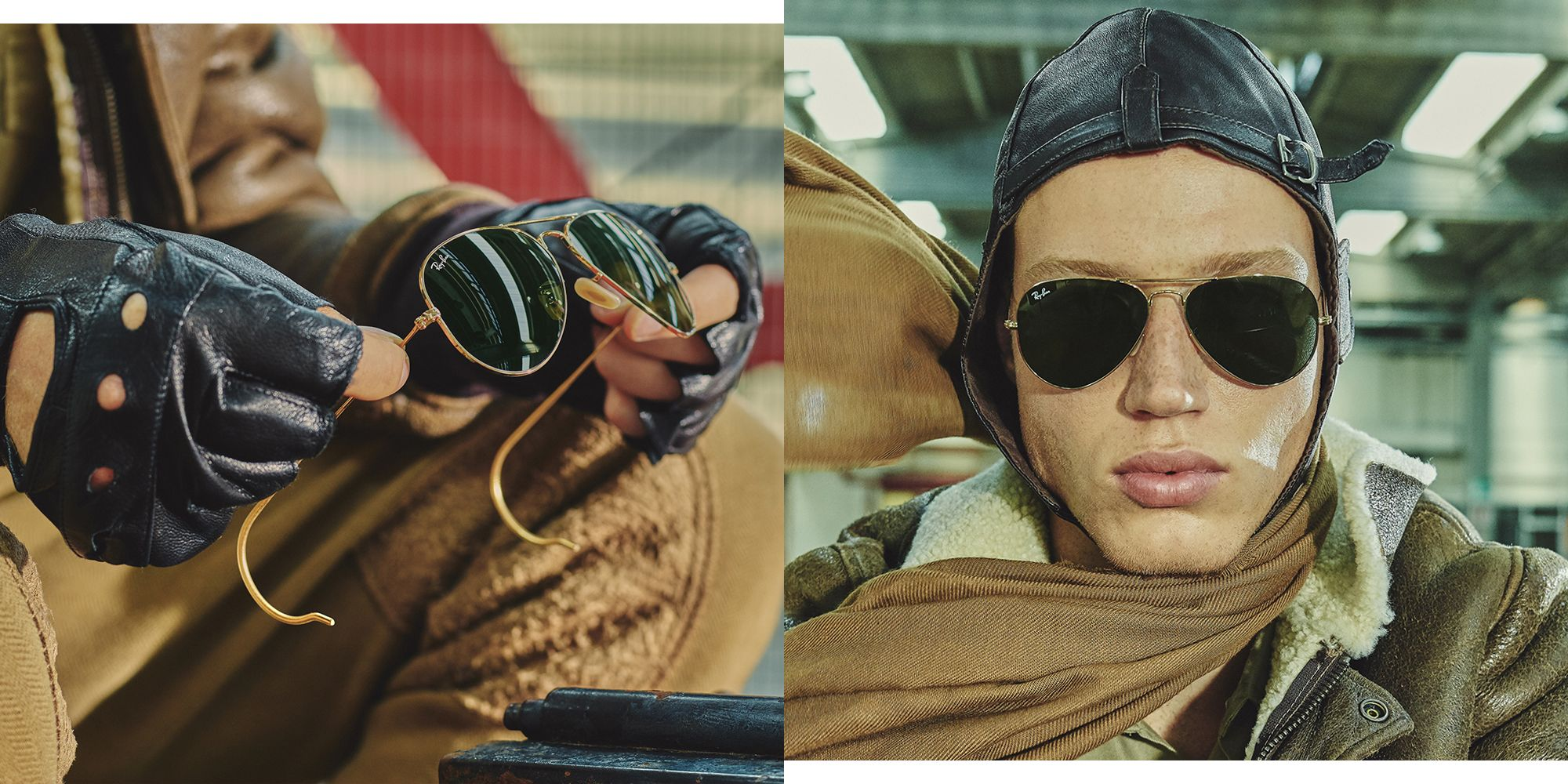 Ray-Ban's Reloaded Program Just Brought Back Some Cool-As-Hell Aviators