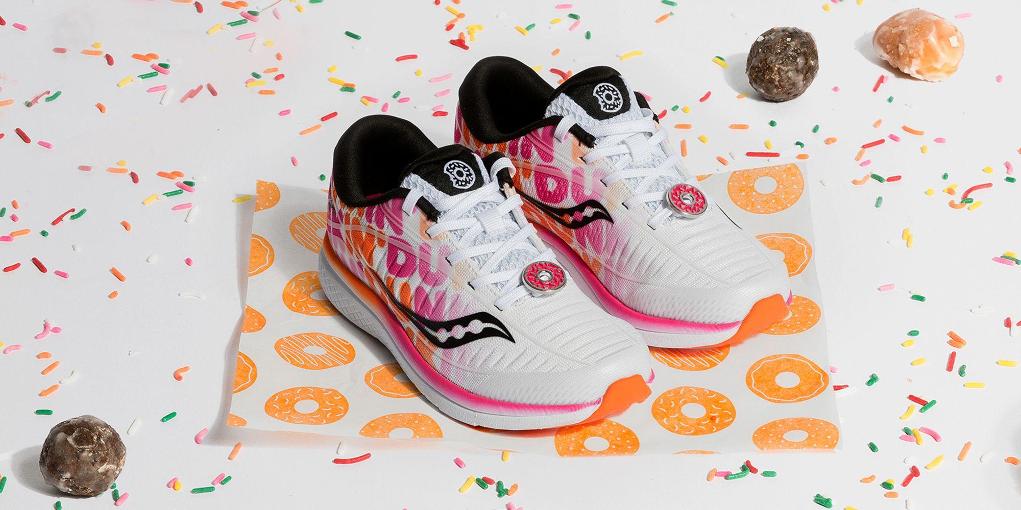 Boston Marathon 2019 Donuts Shoe