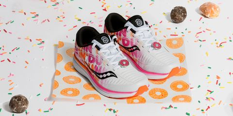 Dunkin' Released Another Saucony Sneaker for the Boston Marathon