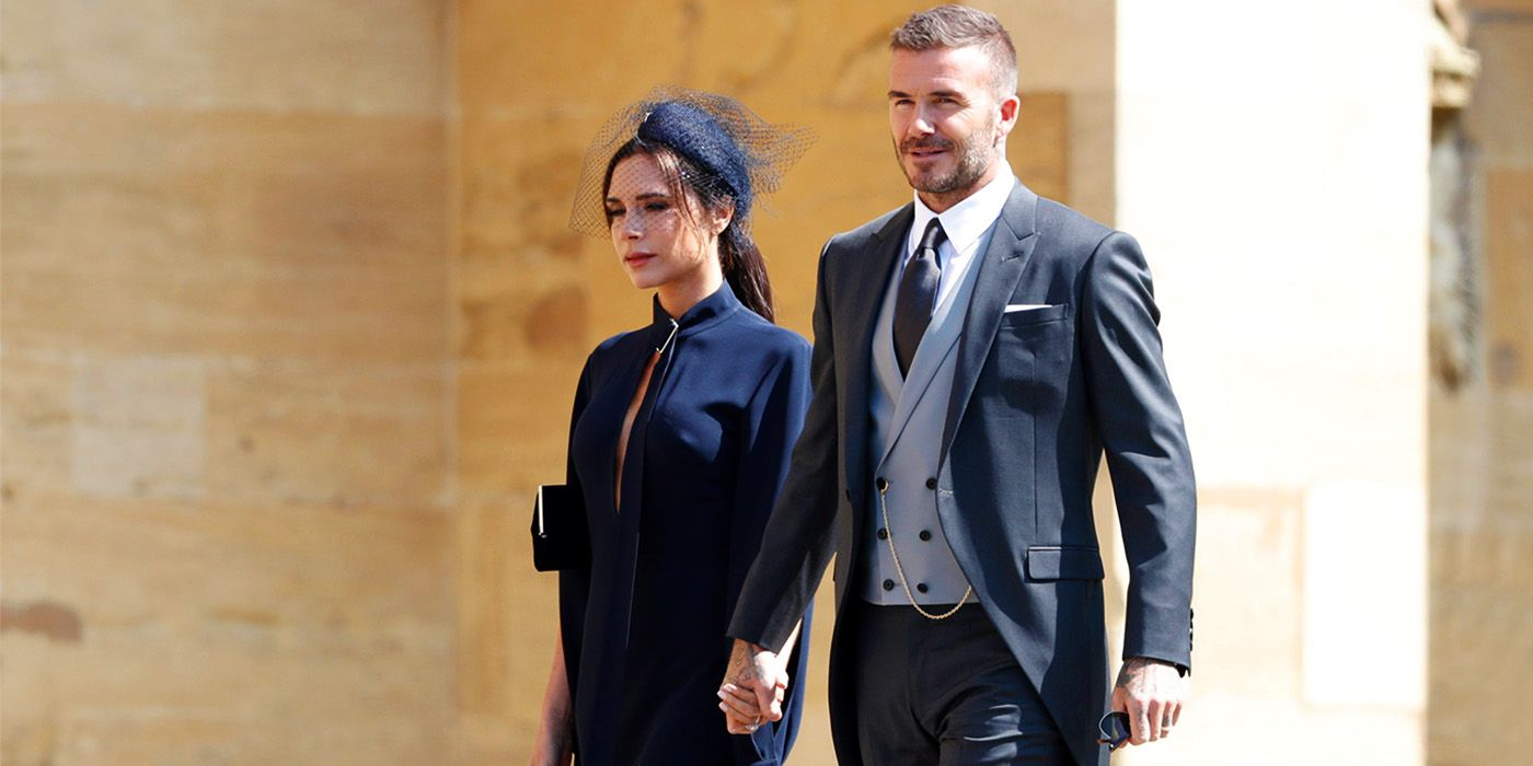 You Can Now Buy David Beckham's Ridiculously Stylish Royal Wedding Outfit
