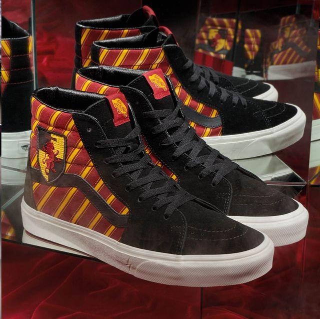 Footwear, Shoe, Sneakers, Yellow, Orange, Sportswear, Fashion, Design, Athletic shoe, Pattern,