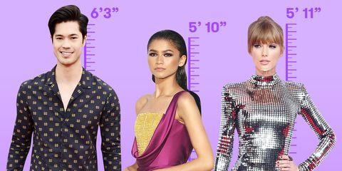 tallest celebrities