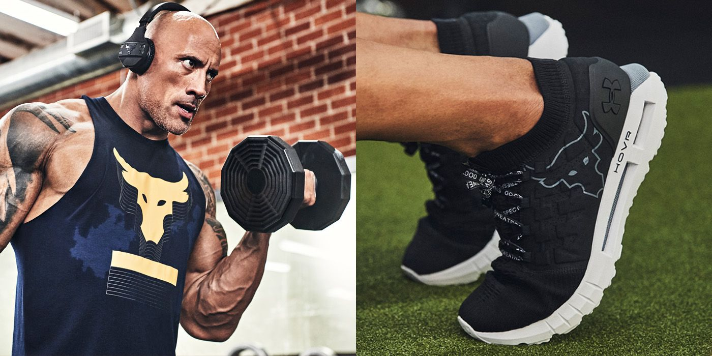 Gym God Dwayne 'The Rock' Johnson Just Dropped More Under Armour Gear