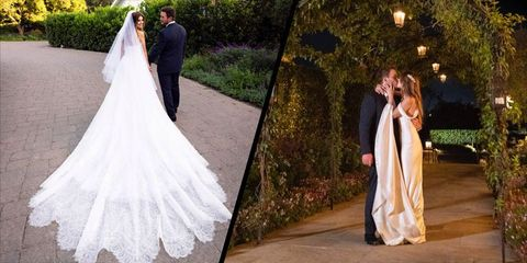 Katherine Schwarzenegger S Second Wedding Gown Was Just As
