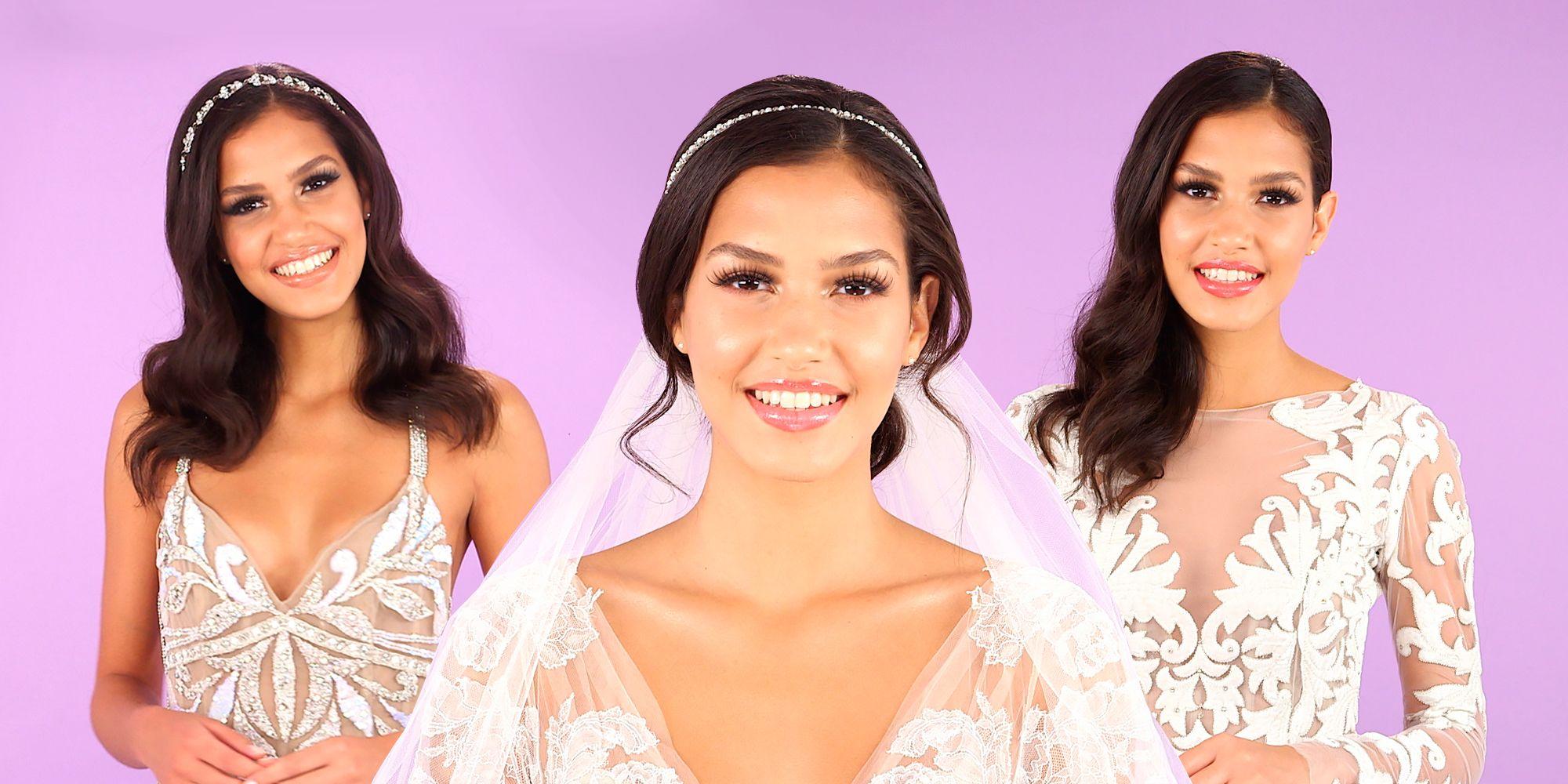 3 Easy Bridal Makeup Video Tutorials - Beautiful Wedding Makeup ...