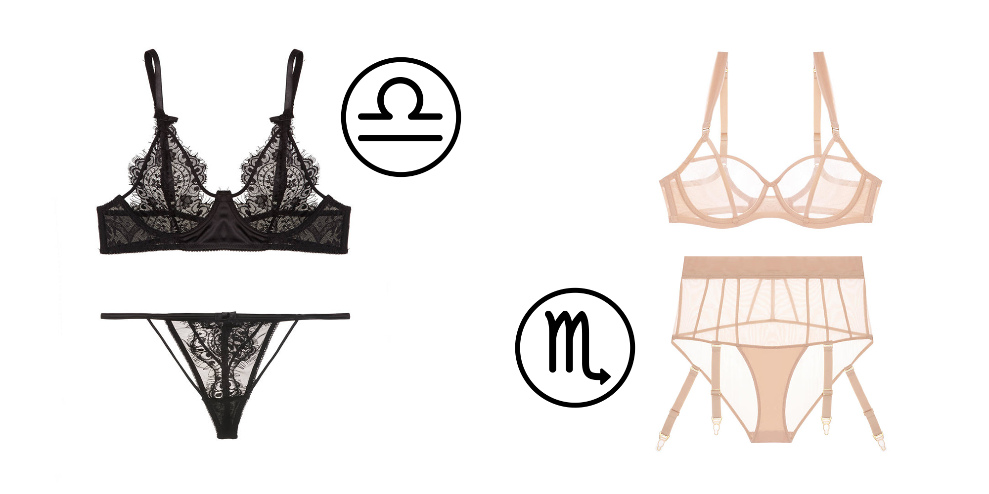 What Your Sign Says About the Type of Lingerie You Need