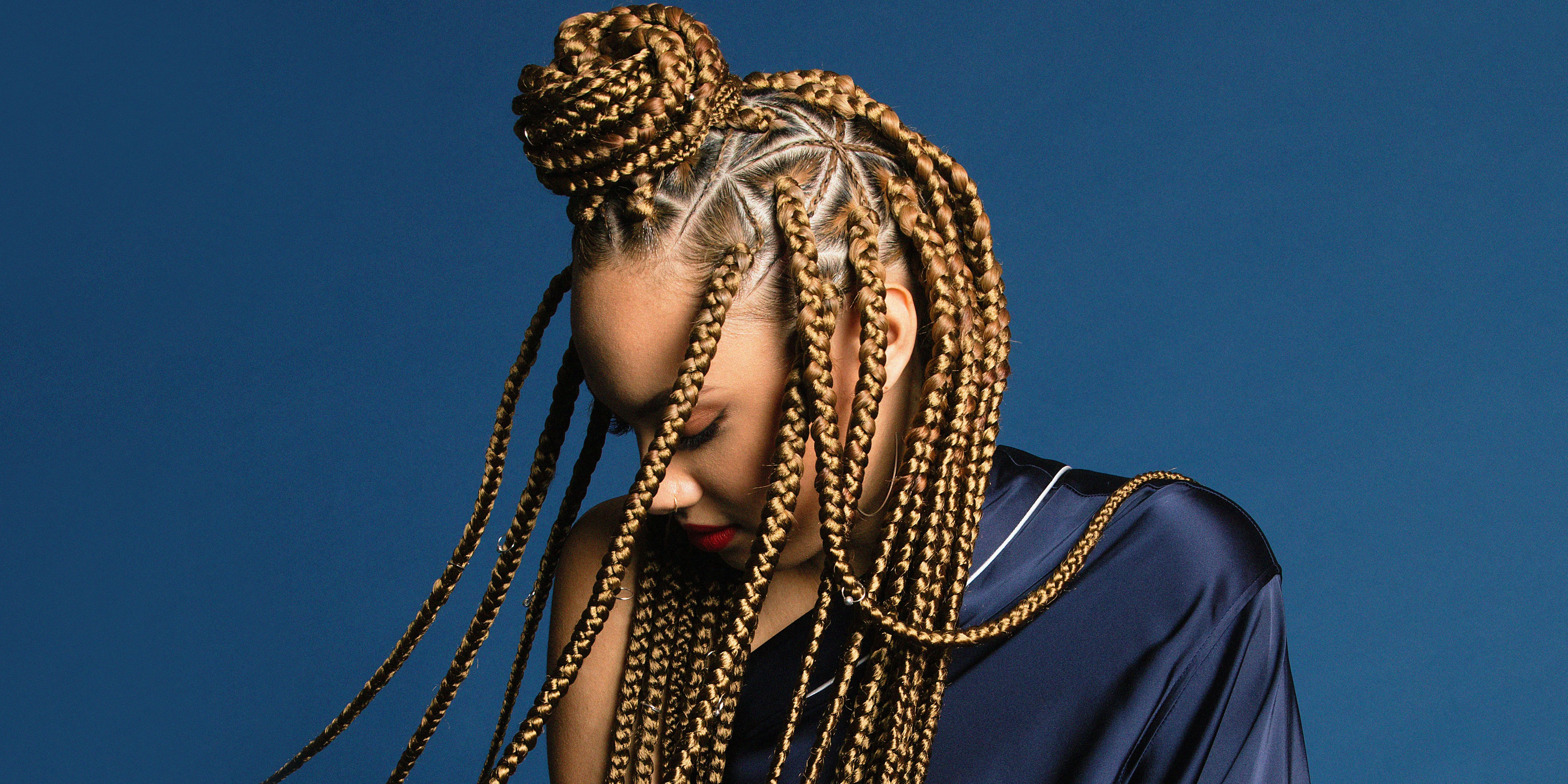 Triangular Box Braids How To Triangle Box Braids Tutorial