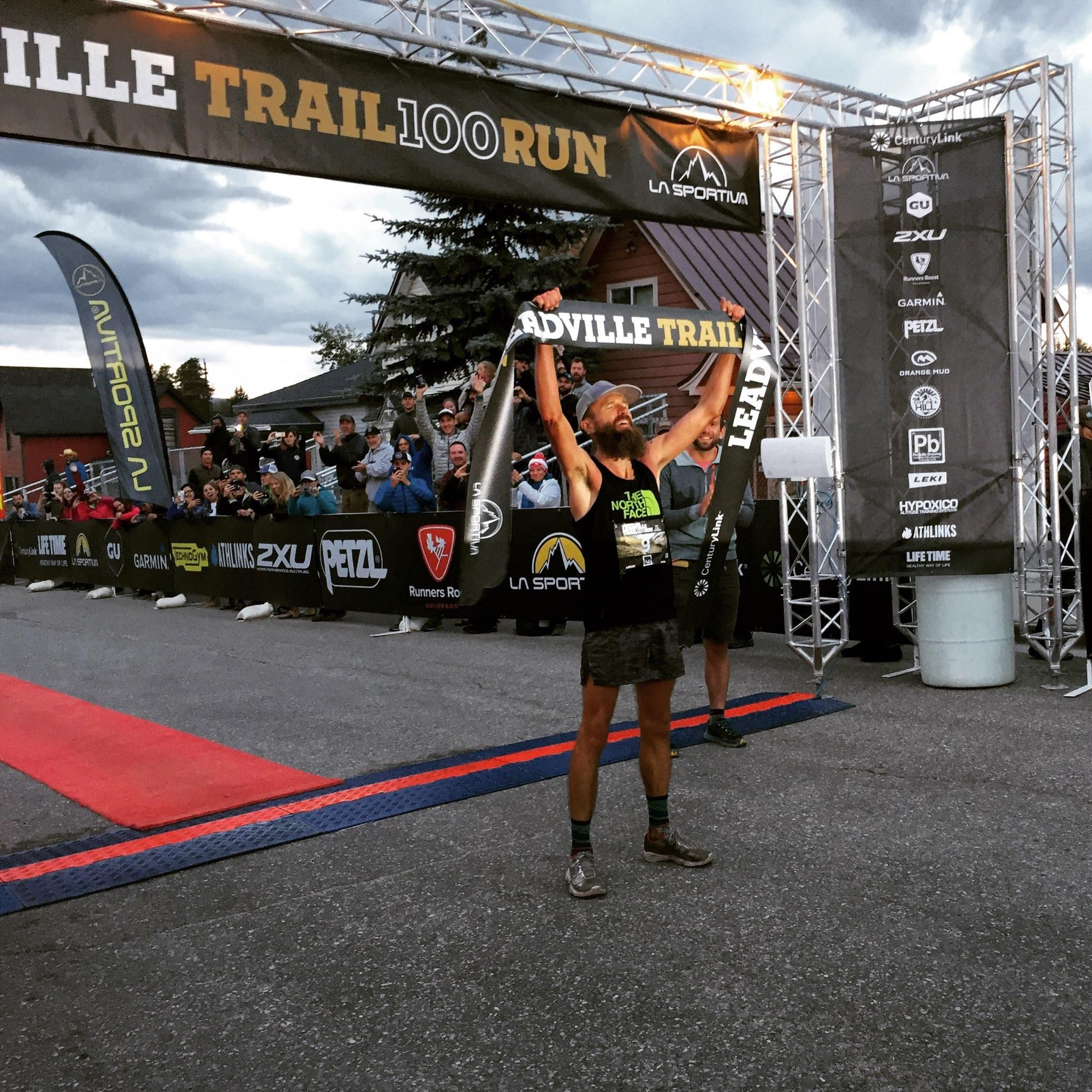 Rob Krar and Katie Arnold Win Leadville Trail 100 Run