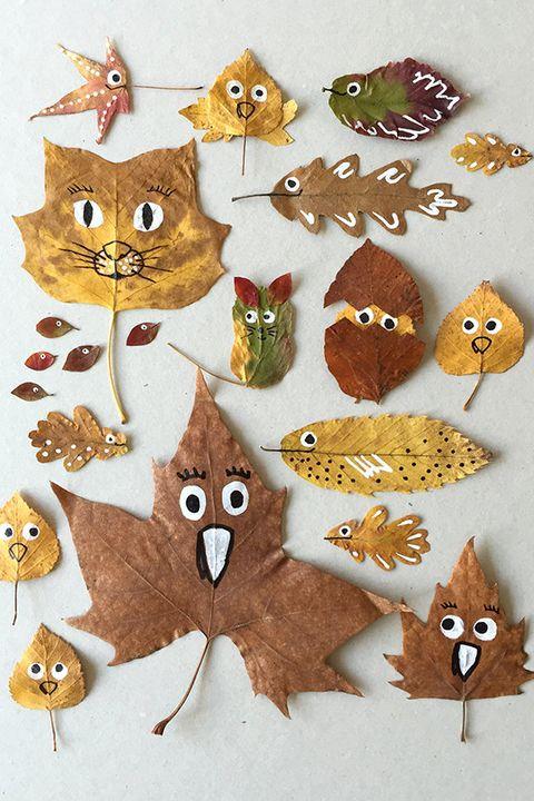 leaf thanksgiving craft