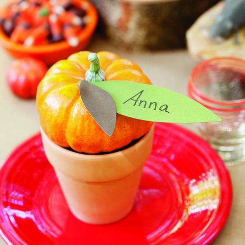 leafy placecards