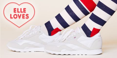Footwear, White, Shoe, Red, Sneakers, Carmine, Font, Walking shoe, Athletic shoe, Brand,