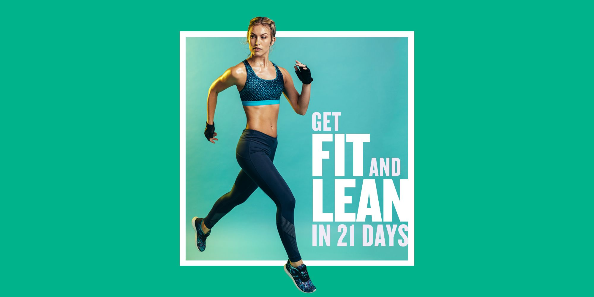 Get Fitter & Leaner in 21 Days with This At-Home Weight-Loss Workout Plan