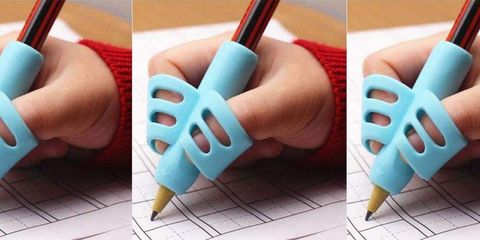 Finger, Turquoise, Nail, Hand, Pen, Pencil, Office supplies, Turquoise, Thumb, Pattern,