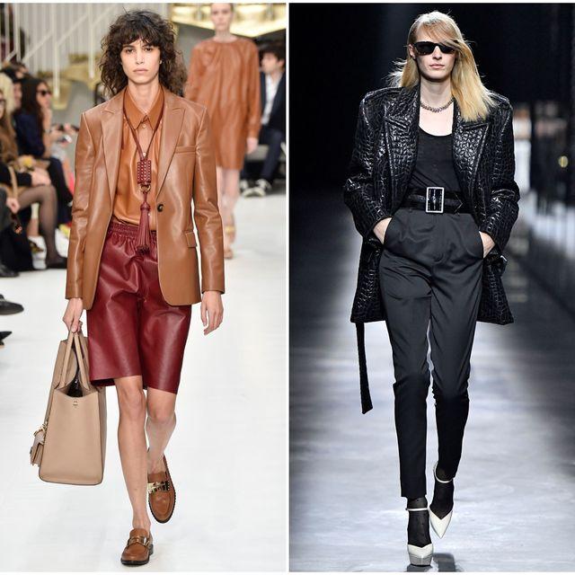 Fashion model, Clothing, Fashion, Outerwear, Footwear, Street fashion, Coat, Leather, Jeans, Jacket,