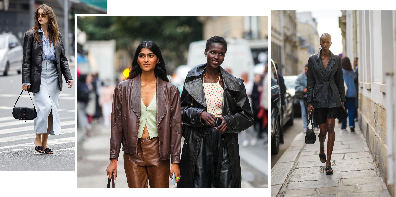 blazers leather