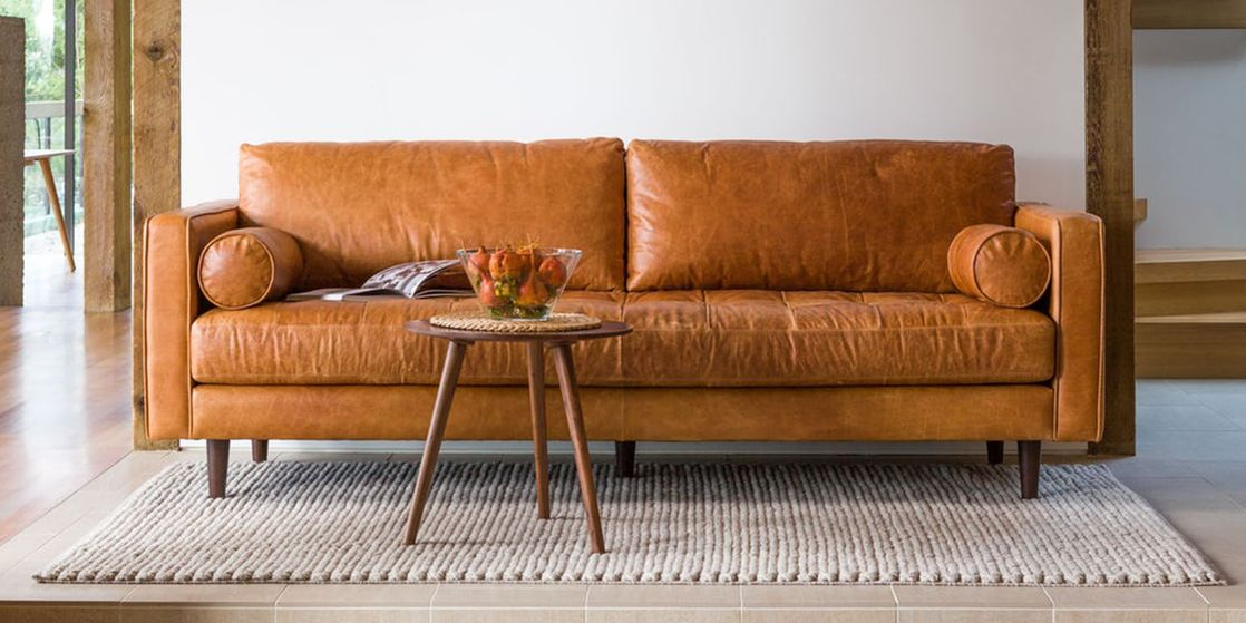 7 Best Leather Sofas To Buy In 2018 Luxe Brown Amp Black