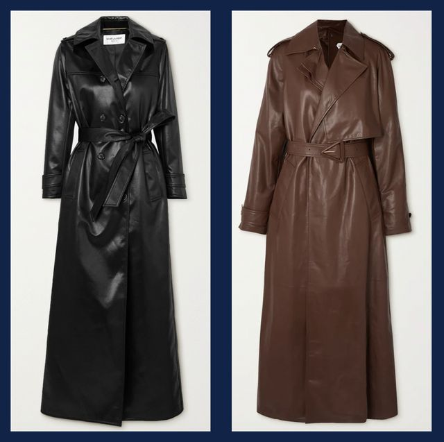 leather trenches