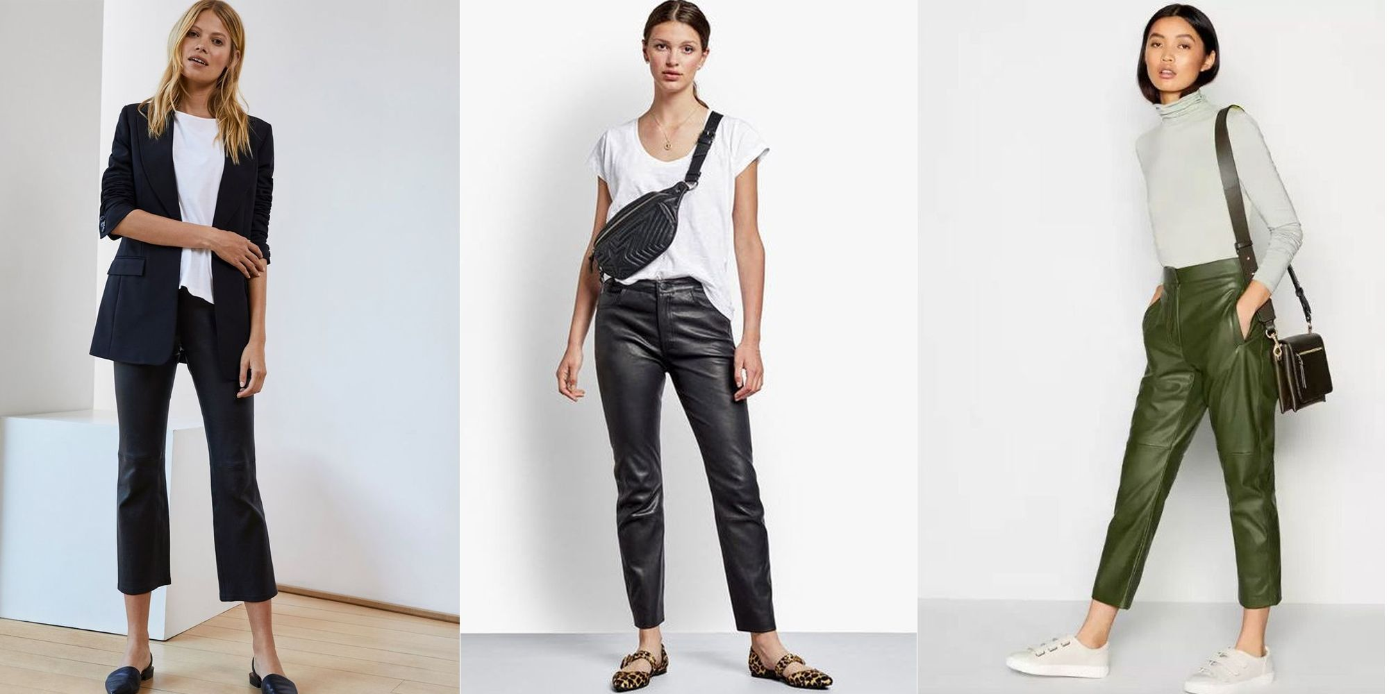 12 of the best leather trousers for autumn/winter