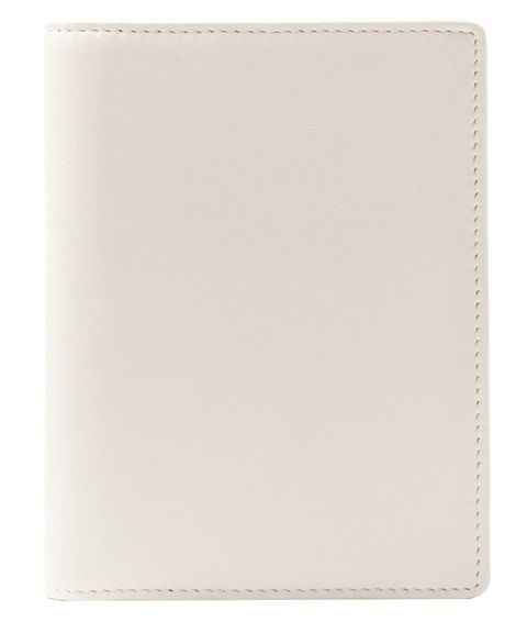 Wallet, Leather, Beige, Rectangle, Paper product, Square,