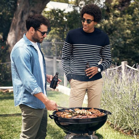 leave the barbecue in their expert hands