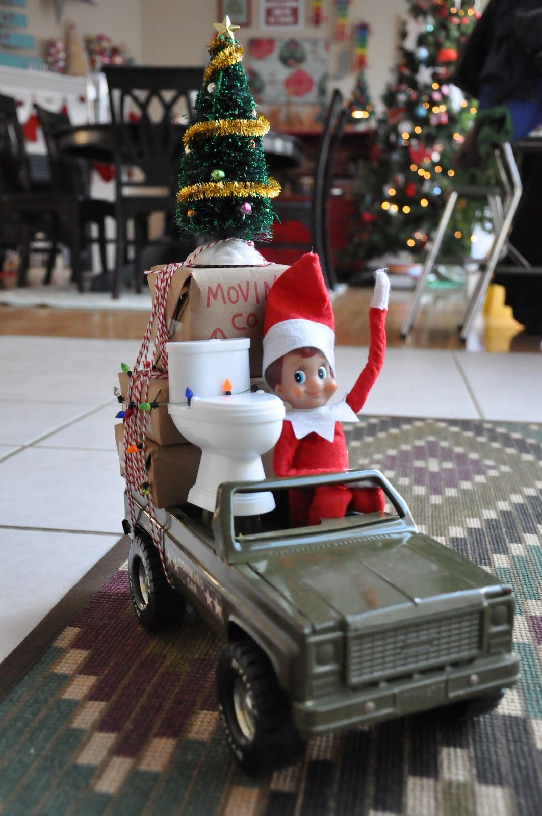 25 elf on the shelf ideas fun ideas for christmas elf on a shelf - Christmas Shelf Decorations