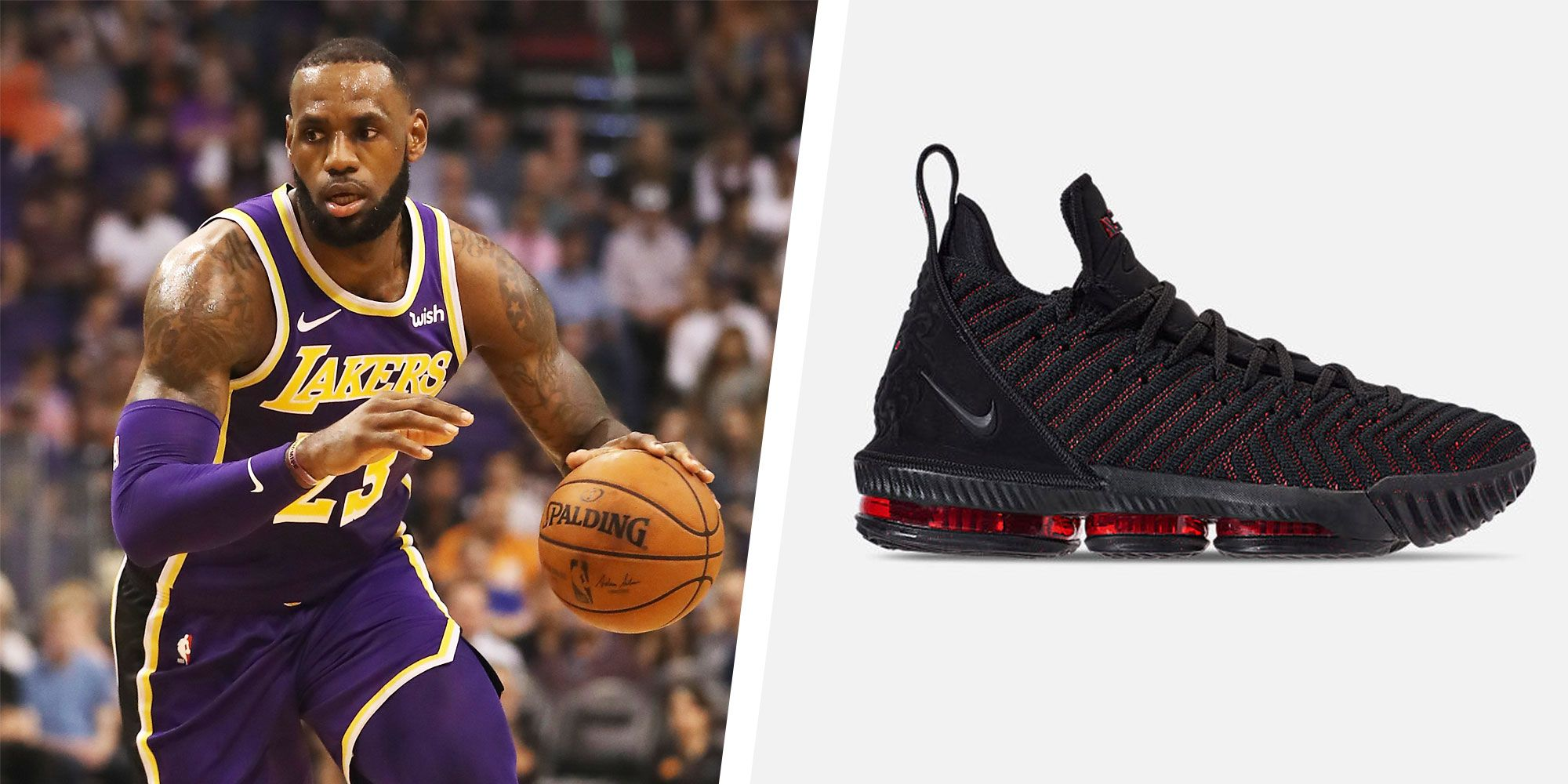 2c3c8faf5cdc LeBron James  16  Basketball Shoe - Must-Have Style Pick of the Week