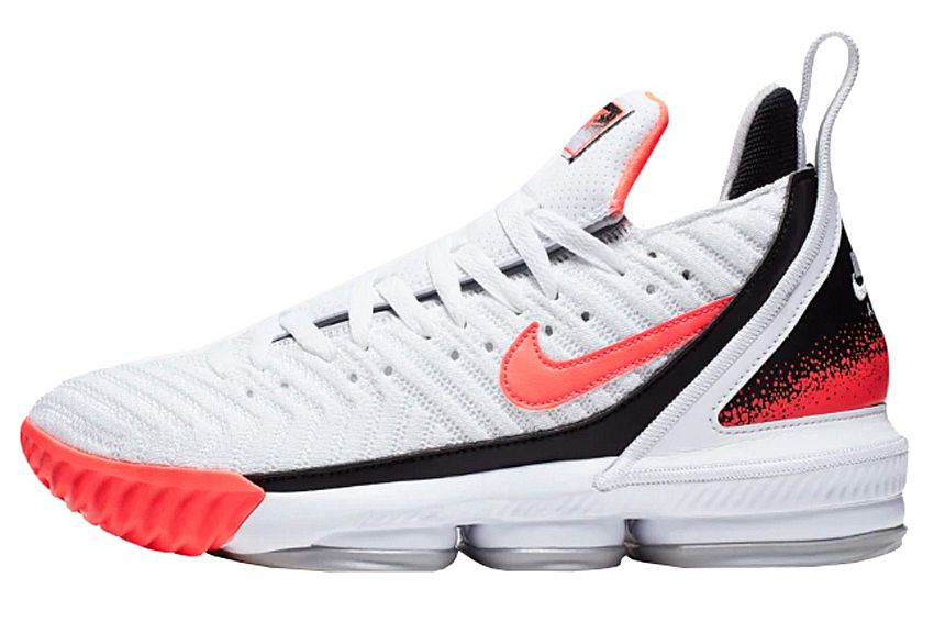 Nike LeBron 16 'Hot Lava White'