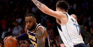 LeBron James se une a los elogios a Luka Doncic