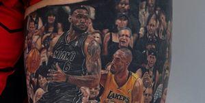 Tatuaje fan LeBron James