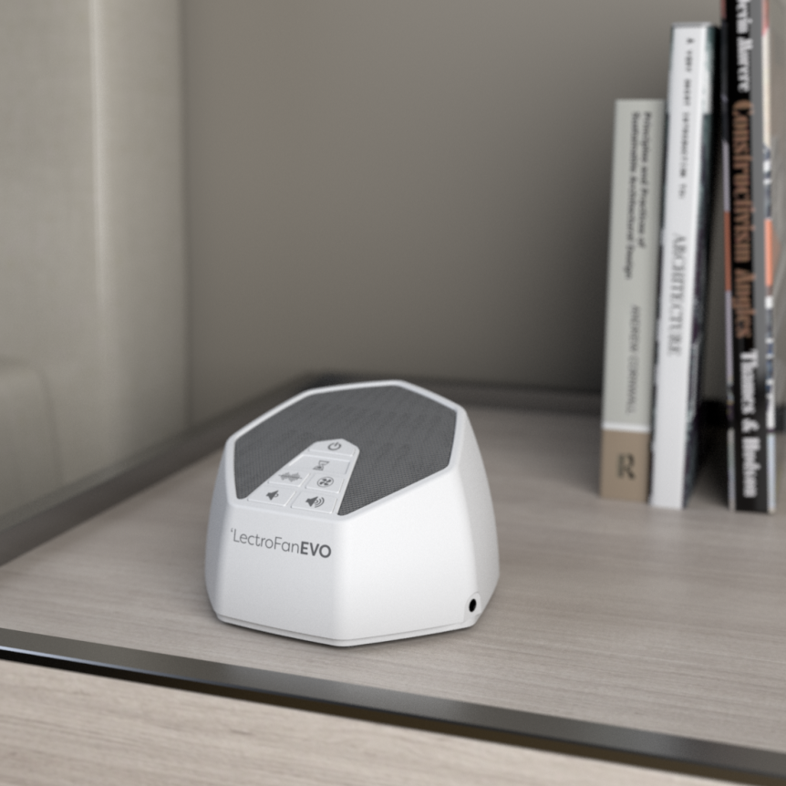 Lectrofan EVO Is the Perfect Gift for People who Can't Sleep Without a Fan on