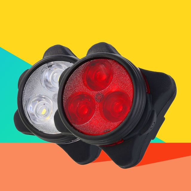 sunshine rechargeable bike lights