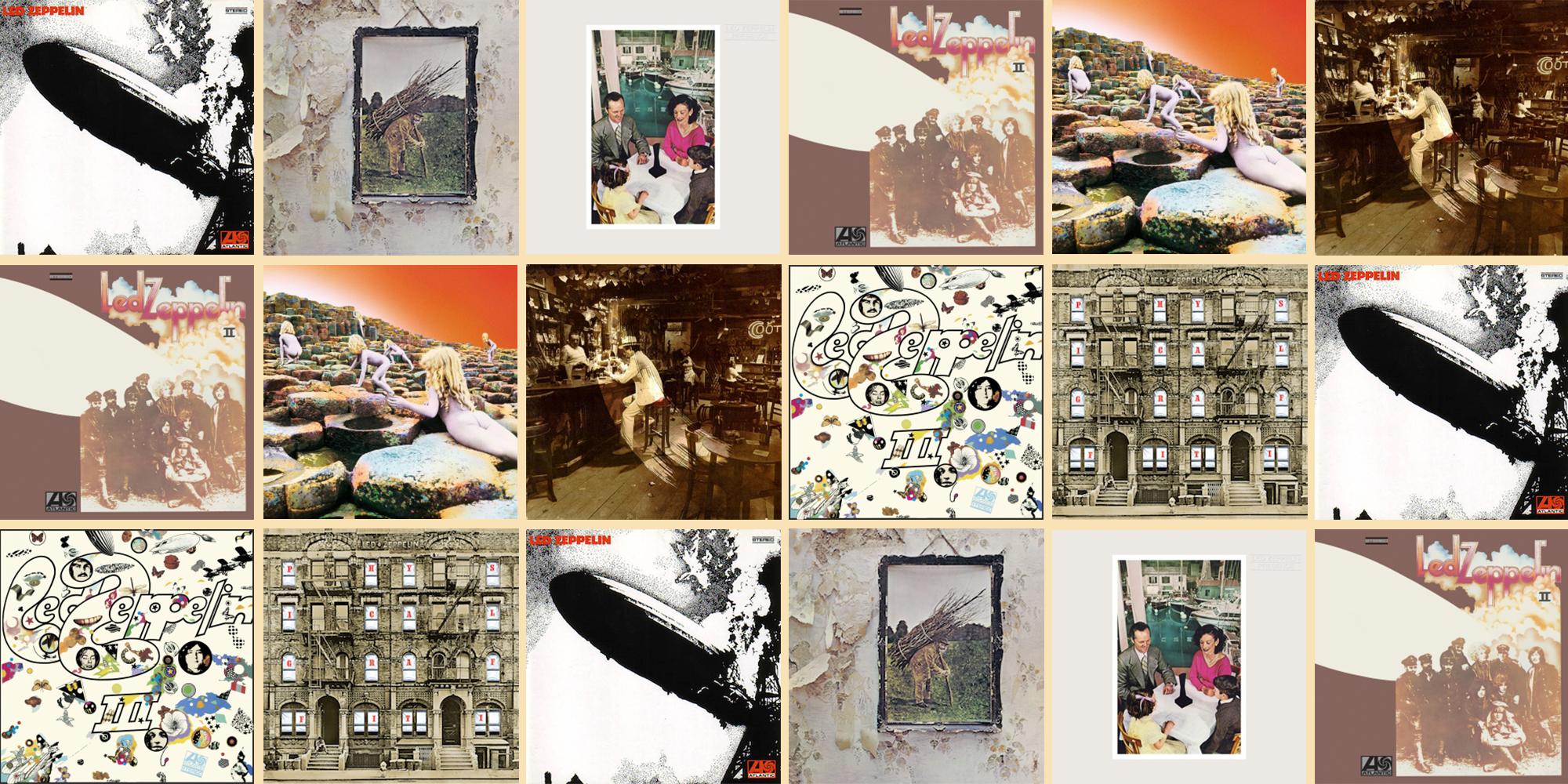 Every Led Zeppelin Album, Ranked