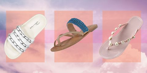 Footwear, Flip-flops, Slipper, Shoe, Sandal,