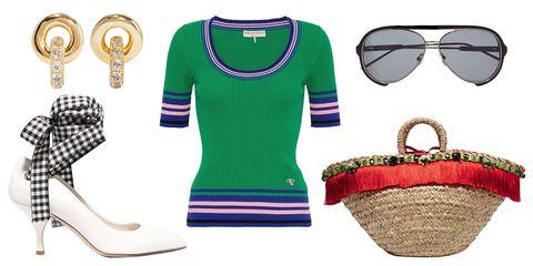 Clothing, Green, Product, Fashion, T-shirt, Sleeve, Eyewear, Footwear, Glasses, Pattern,