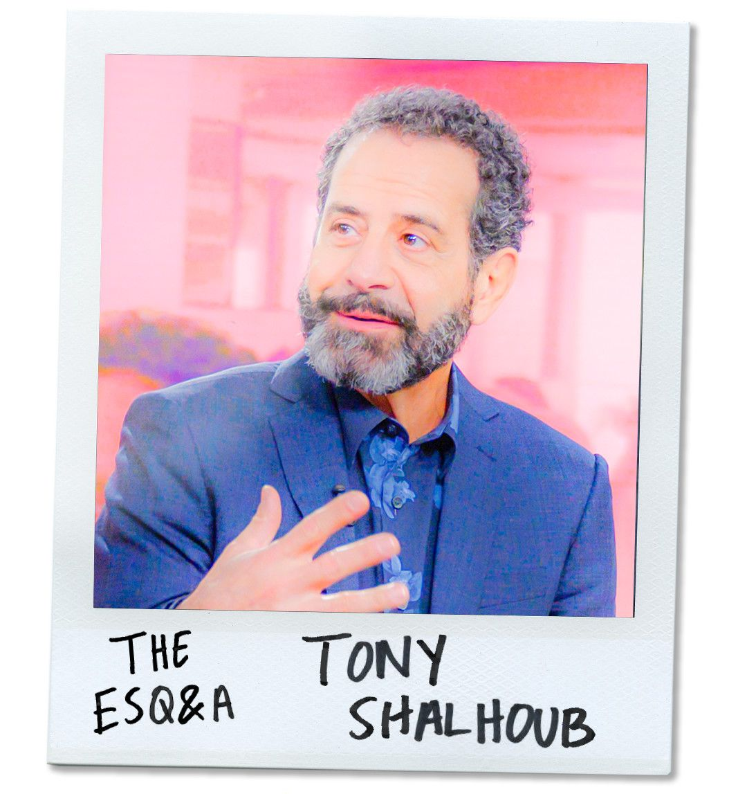 Tony Shalhoub Was Once Bill Murray's Cab Driver. Now He's America's Favorite Mid-Century Dad.