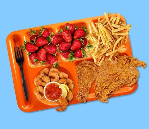 Dish, Food, Cuisine, Ingredient, Kids' meal, Junk food, Produce, Fried food, Fast food, Food group,