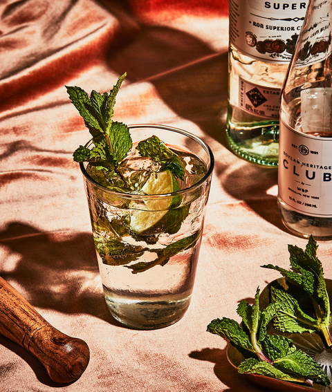 How To Make Cuban Mojito Cocktail