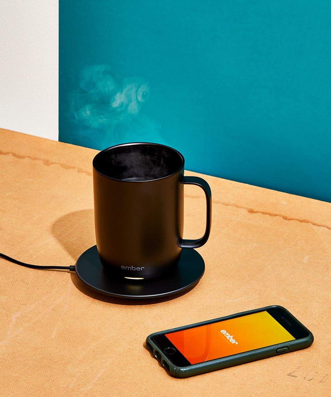 The Ember Temperature Control Mug Helps You Kick Every Morning's Ass